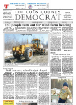 In the Woods - Coos County Democrat Article